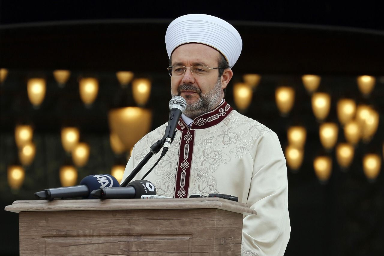 "Mehmet Görmez: ""Sisis children studied in the schools of FETO"""