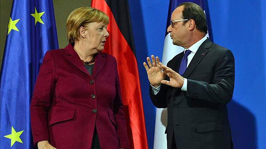Merkel, Hollande grill Putin for alleged war crimes