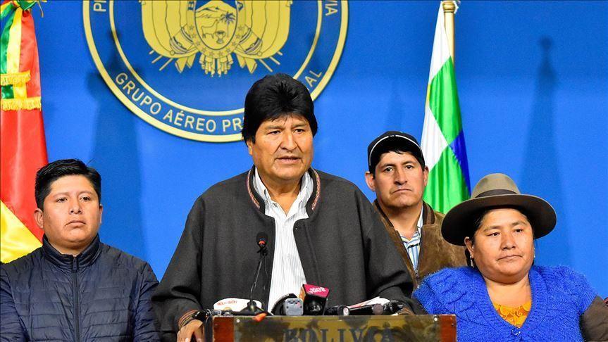 Mexico grants asylum to ex-Bolivian president