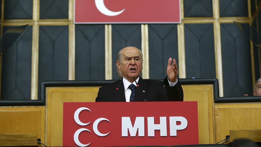 MHP leader Bahceli: Germany should 'correct mistake'