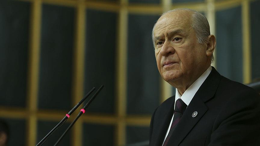 MHP leader Bahceli slams Greece over islets