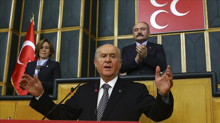 MHP leader Bahceli slams Russia over bombing of Turkish soldiers