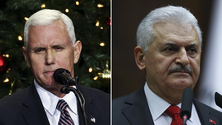 Mike Pence to talk to Turkish PM Binali Yildirim via telephone