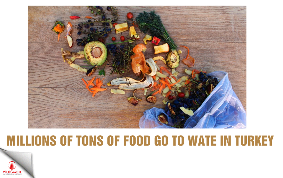 Millions of tons of food go to waste in Turkey