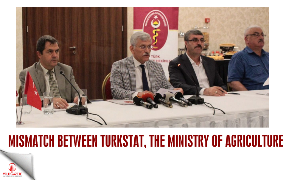 Mismatch between TurkStat, The Ministry of Agriculture