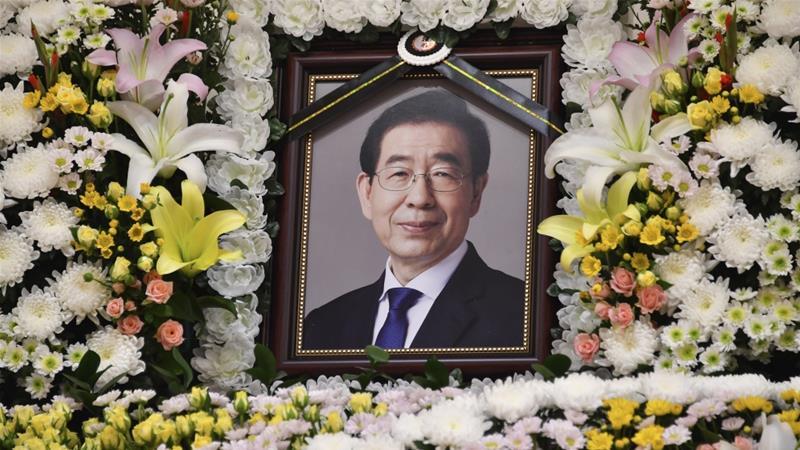 Missing Seoul Mayor Park Won-soon found dead