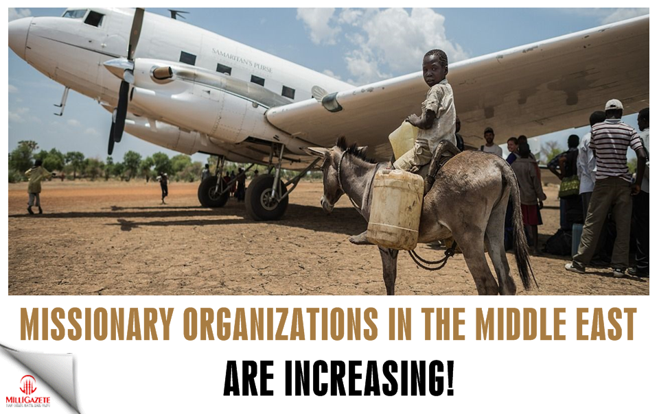 Missionary organizations in the Middle East are increasing!