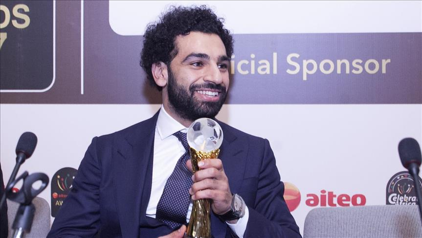 Mohammed Salah named African Player of the Year