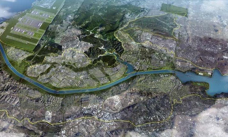 More land on Kanal Istanbul route zoned for residential, commercial use