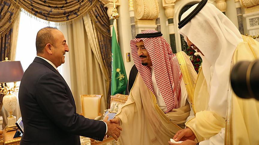 Mosul dominates Turkish FM's Saudi meeting