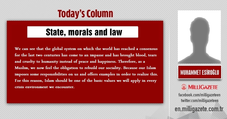 "Muhammet Esiroğlu: ""State, morals and law"""