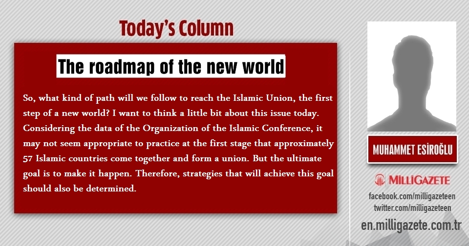 "Muhammet Esiroğlu: ""The roadmap of the new world"""