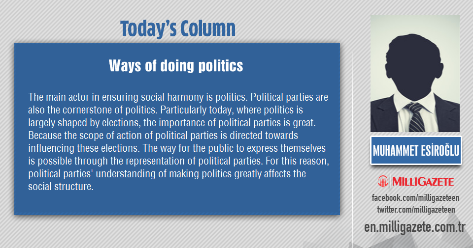 "Muhammet Esiroğlu: ""Ways of doing politics"""