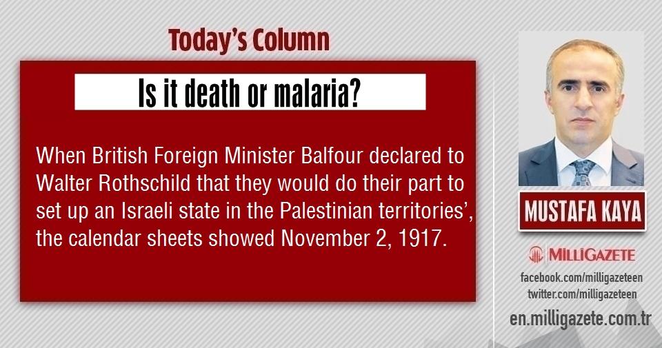 """Mustafa Kaya: """"Is it death or malaria?"""""""