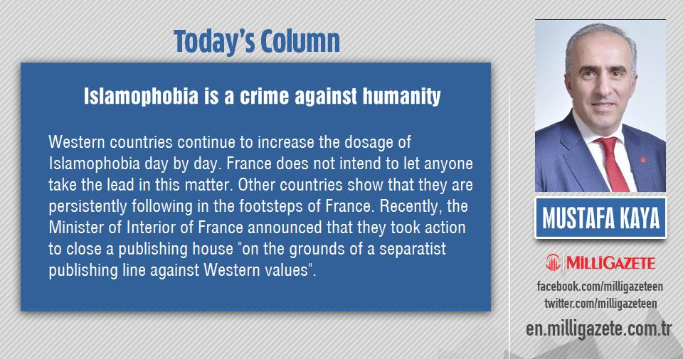 "Mustafa Kaya: ""Islamophobia is a crime against humanity"""