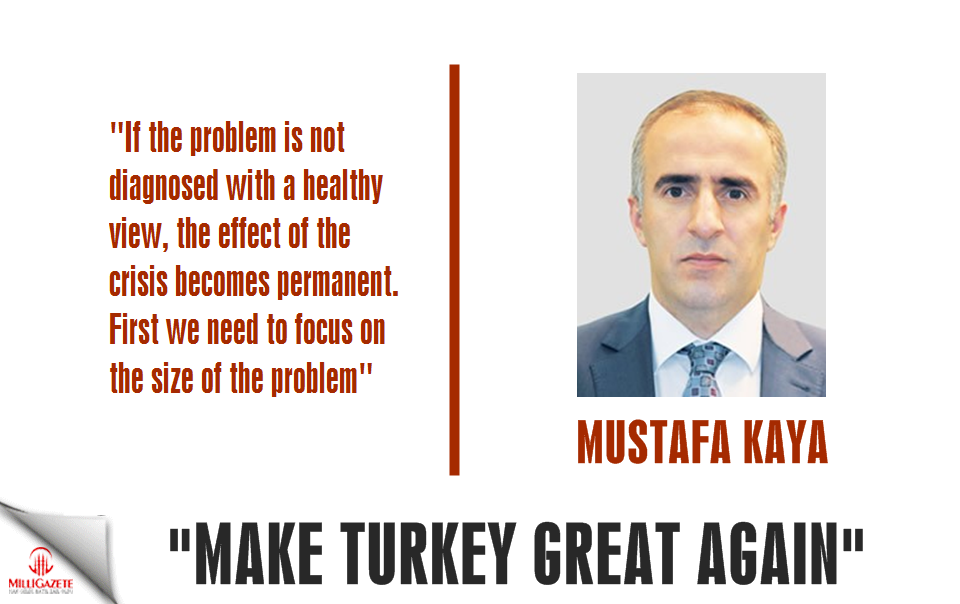 "Mustafa Kaya: ""Make Turkey great again"""