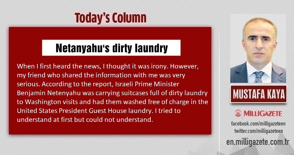 """Mustafa Kaya: """"Netanyahus dirty laundry"""""""