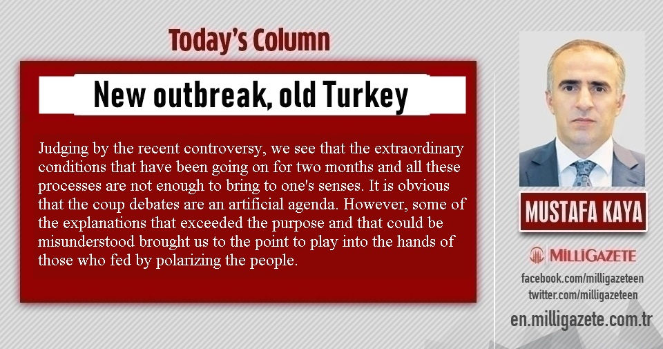 "Mustafa Kaya: ""New outbreak, old Turkey"""