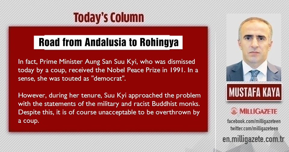 "Mustafa Kaya: ""Road from Andalusia to Rohingya"""