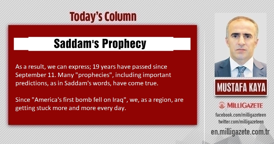 "Mustafa Kaya: ""Saddams prophecy"""