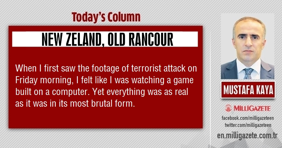 "Mustafa Kaya: ""New Zeland, old rancour"""
