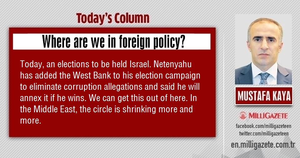 "Mustafa Kaya: ""Where are we in foreign policy?"""