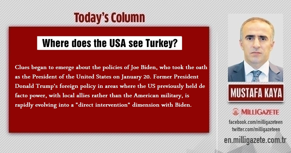 "Mustafa Kaya: ""Where does the USA see Turkey?"