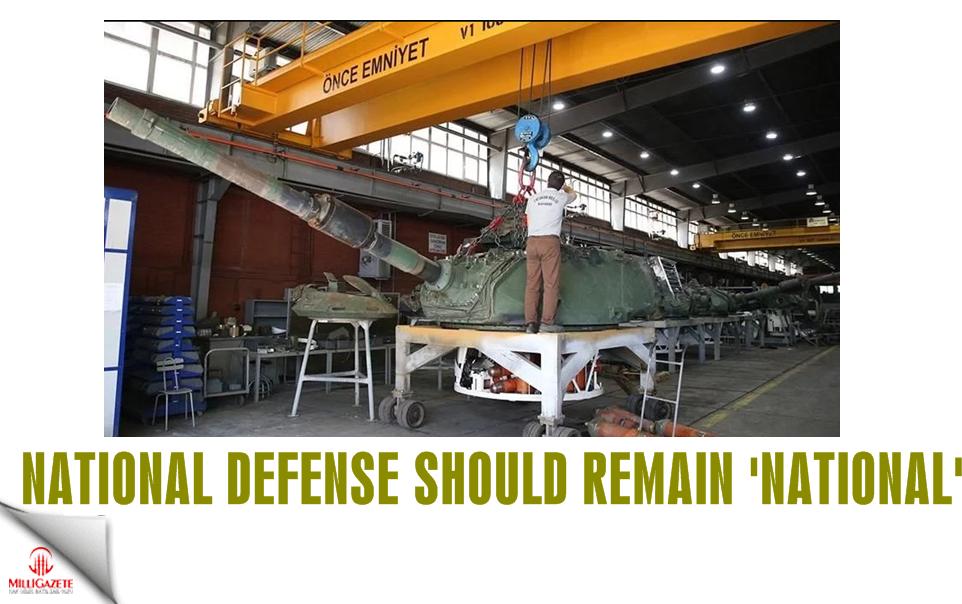 National defense should remain national