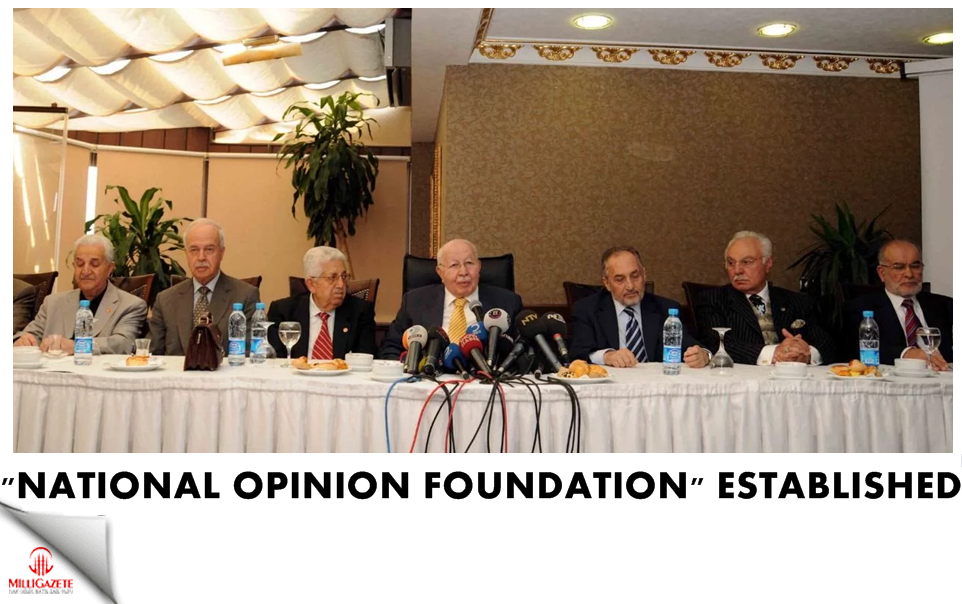 """National Opinion Foundation"" established"