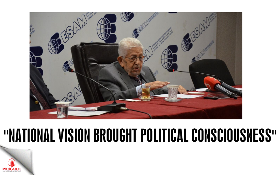 """National Vision brought political consciousness"""