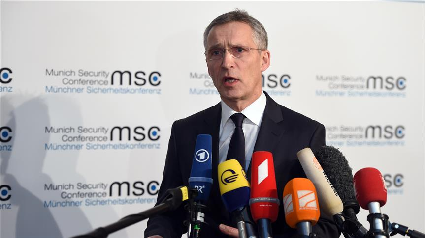 NATO chief reiterates Turkey's right to protect borders