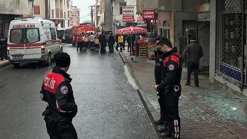 Natural gas explosion in Istanbul, 7 injures
