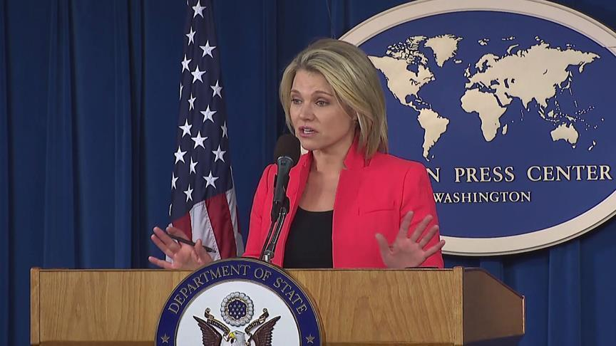 Nauert labels Russian humanitarian corridor as 'a joke'