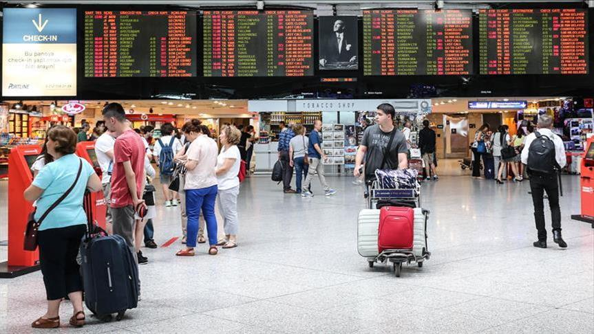 Nearly 2.89 million foreigners visited Turkey in May