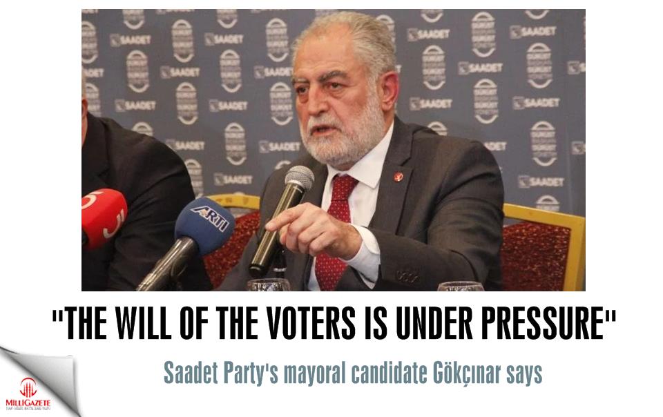 Necdet Gökçınar: The will of the voters is under pressure