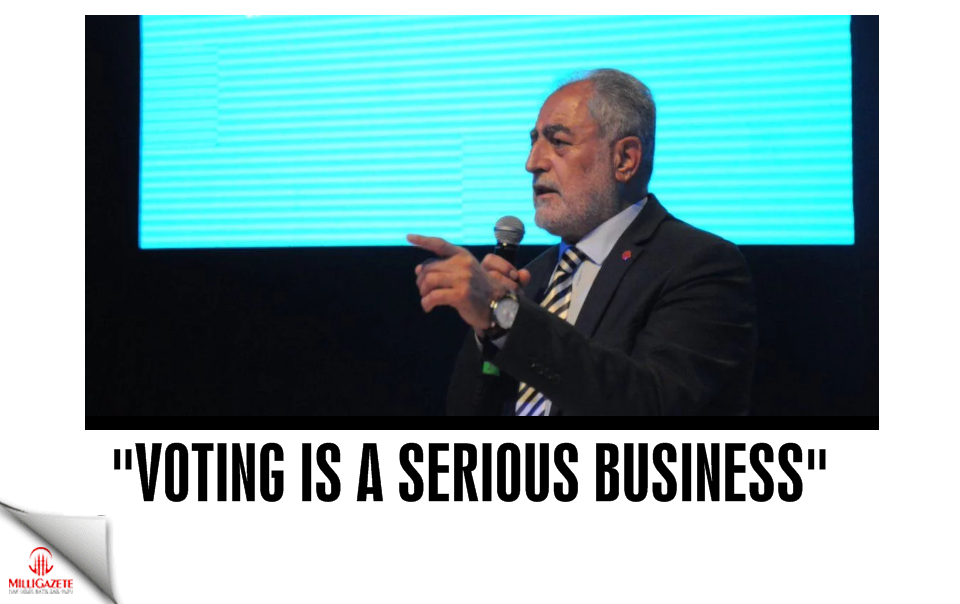 Necdet Gökçınar: Voting is a serious business