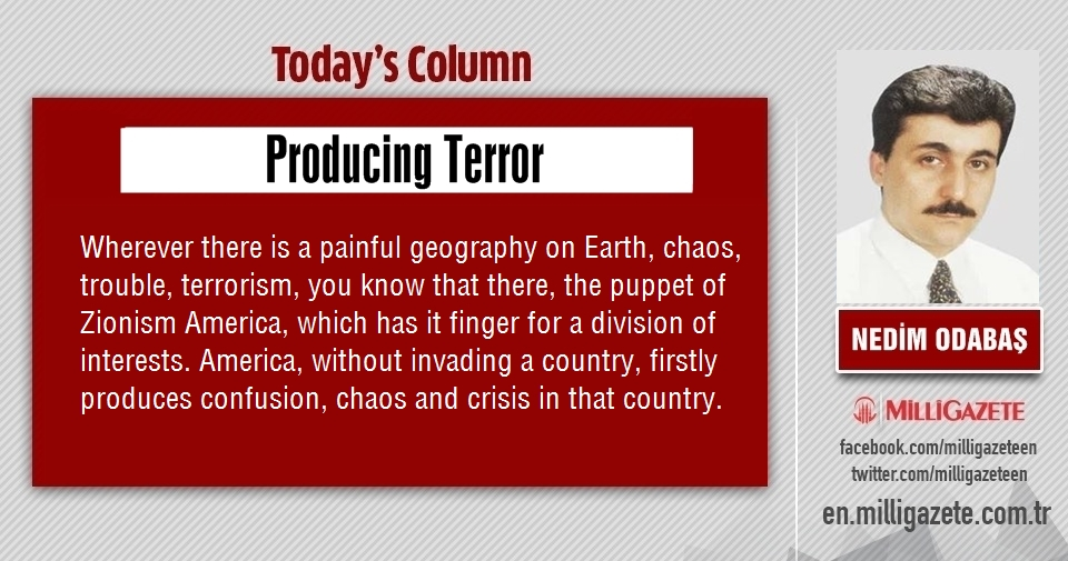 "Nedim Odabaş: ""Producing terror"""