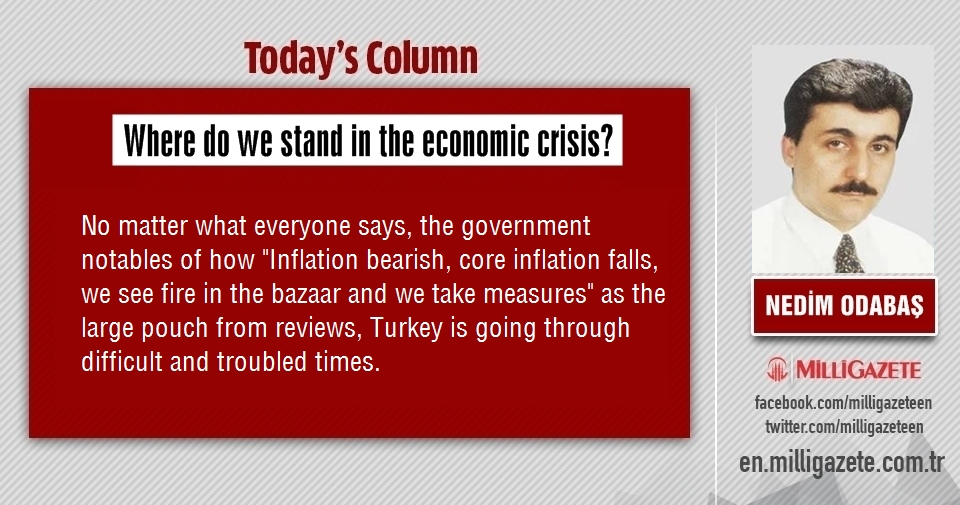 "Nedim Odabaş: ""Where do we stand in the economic crisis?"""