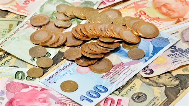 Net monthly minimum wage for 2017 as 1,404 liras
