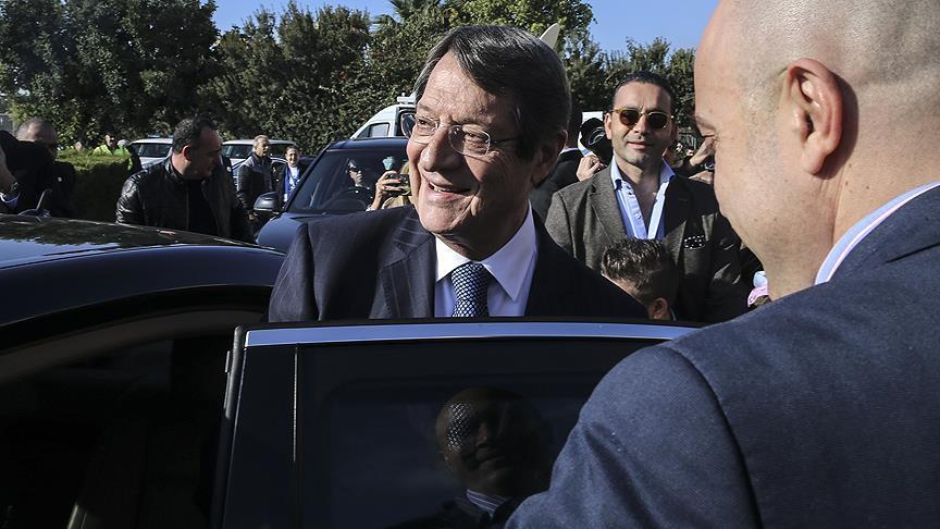 Nicos Anastasiades re-elected as Greek Cypriot leader