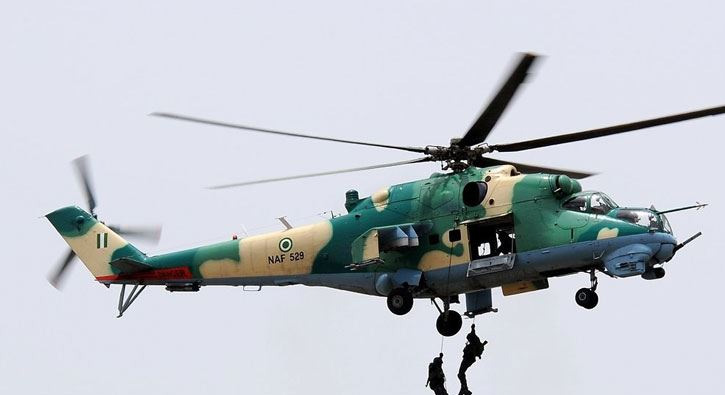 Nigerian fighter jet kills civilians