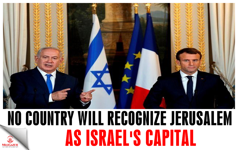 No country will recognize Jerusalem as Israels capital