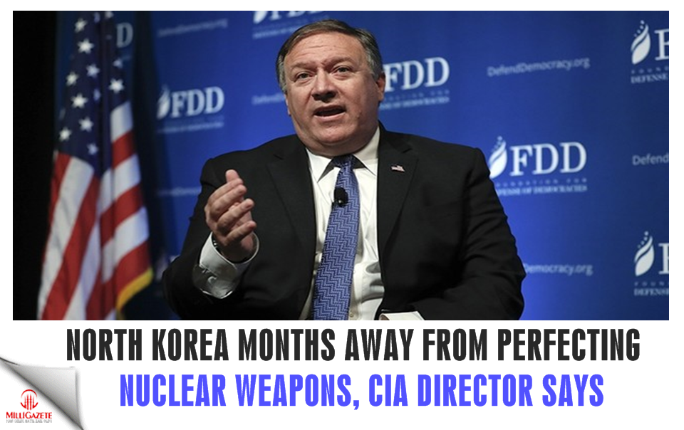 North Korea months away from perfecting nuclear weapons, CIA director says