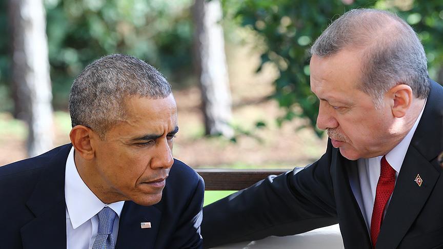 Obama, Erdogan discuss Daesh in Iraq and Syria