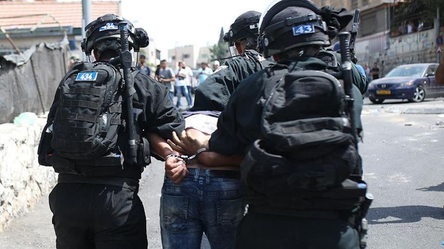 Occupier Israel detains 16 Palestinians in West Bank