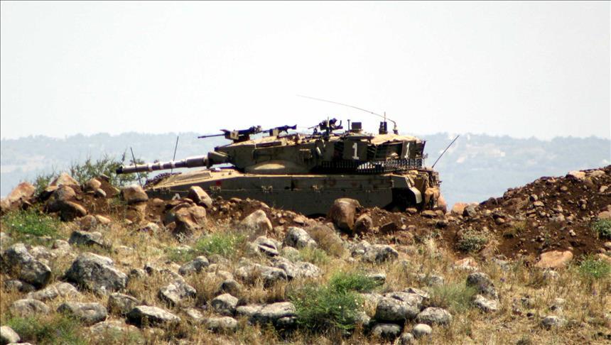 Occupier Israeli tanks fire shells at eastern border of Gaza