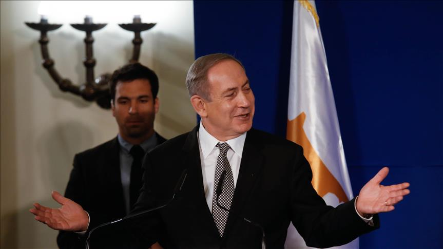 Occupier Israel's PM eyes on energy deal with Greek Cypriot