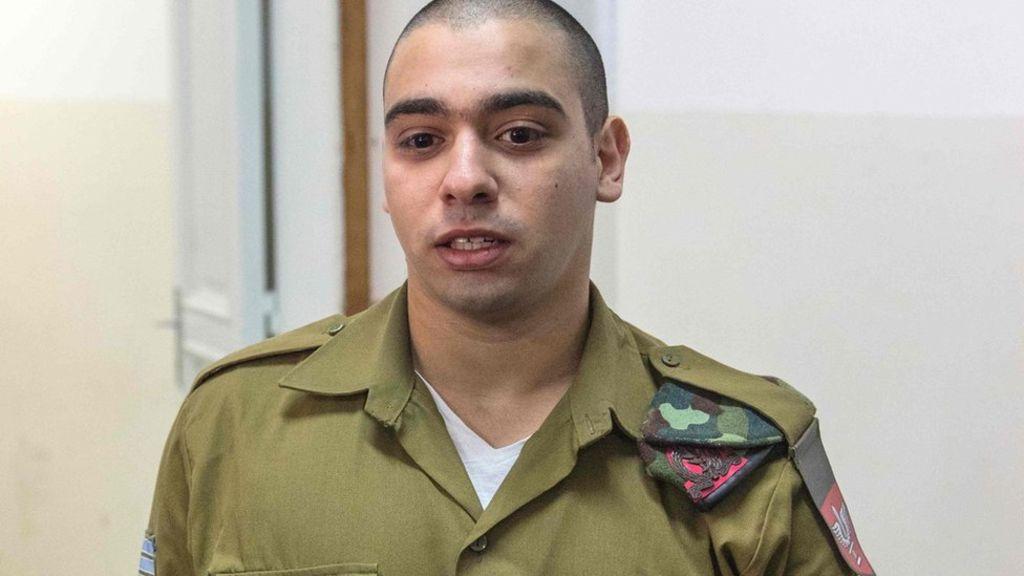 Occupier Israel's soldier sentenced 18 months in prison