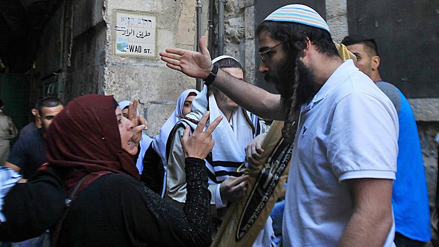 Occupier Jewish settlers attack Palestinian property in West Bank