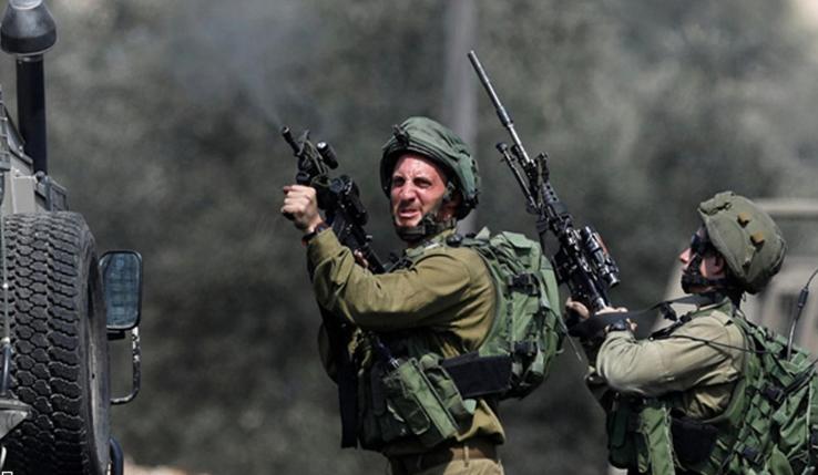 Occupying zionists wound 63 Palestinians, 17 children